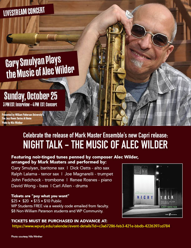 Gary Smulyan Plays the Music of Alec Wilder